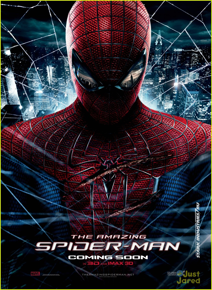 emma stone andrew garfield spiderman poster mexico 03