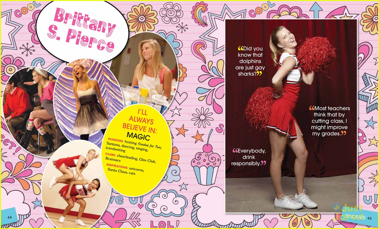 glee mckinley yearbook exclusive 01