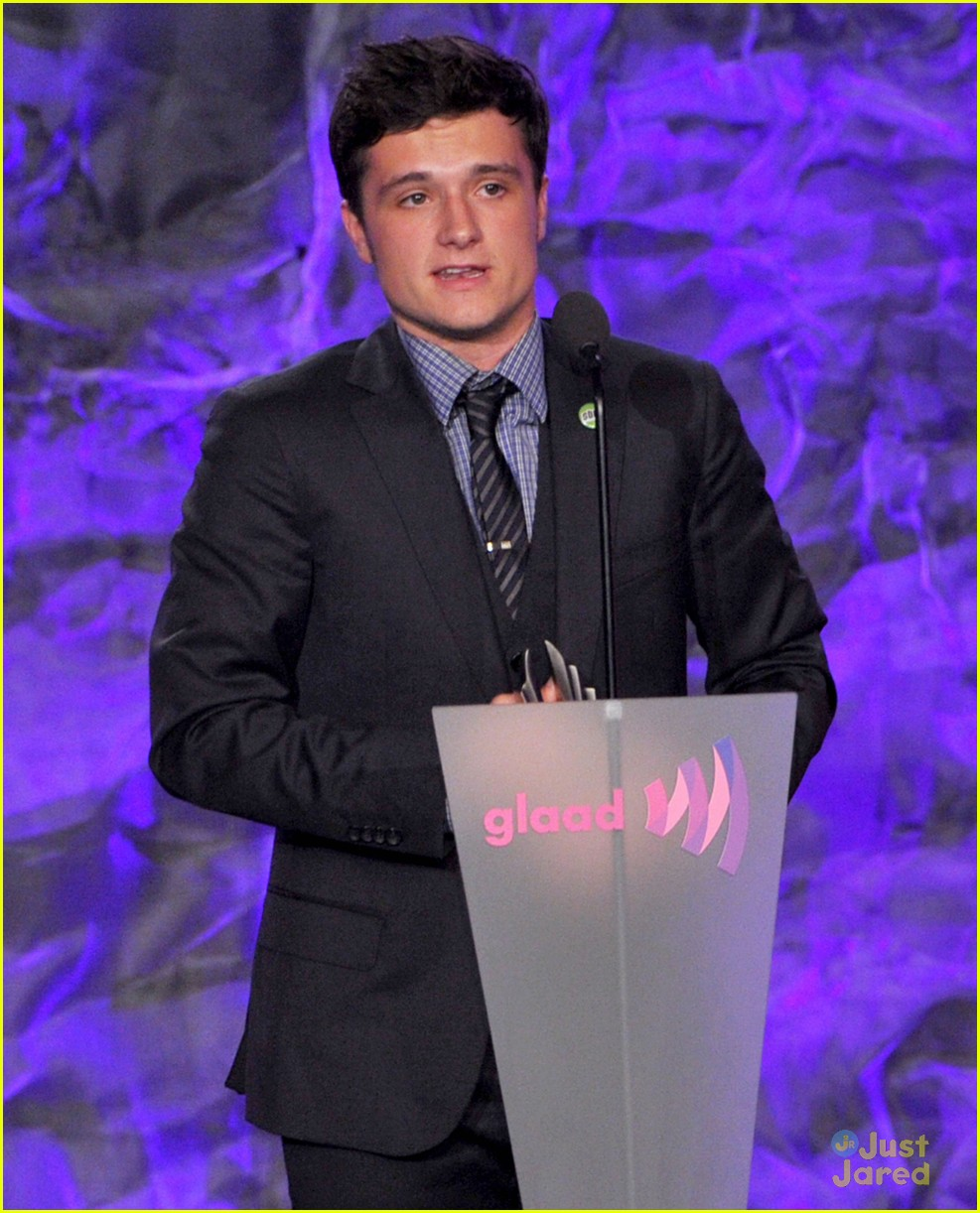 josh hutcherson glaad media awards 02