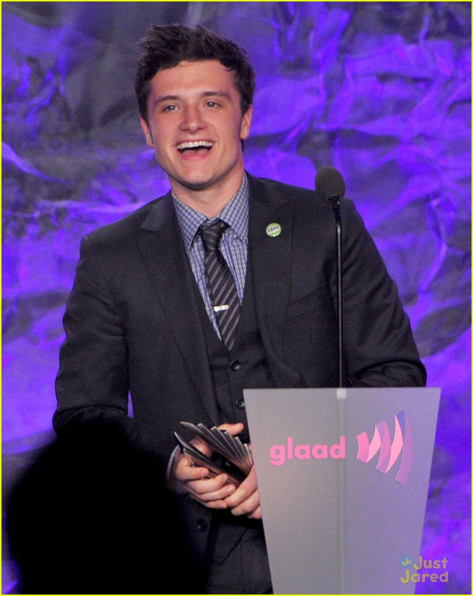 josh hutcherson glaad media awards 06