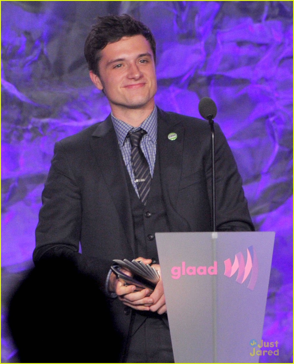 josh hutcherson glaad media awards 09