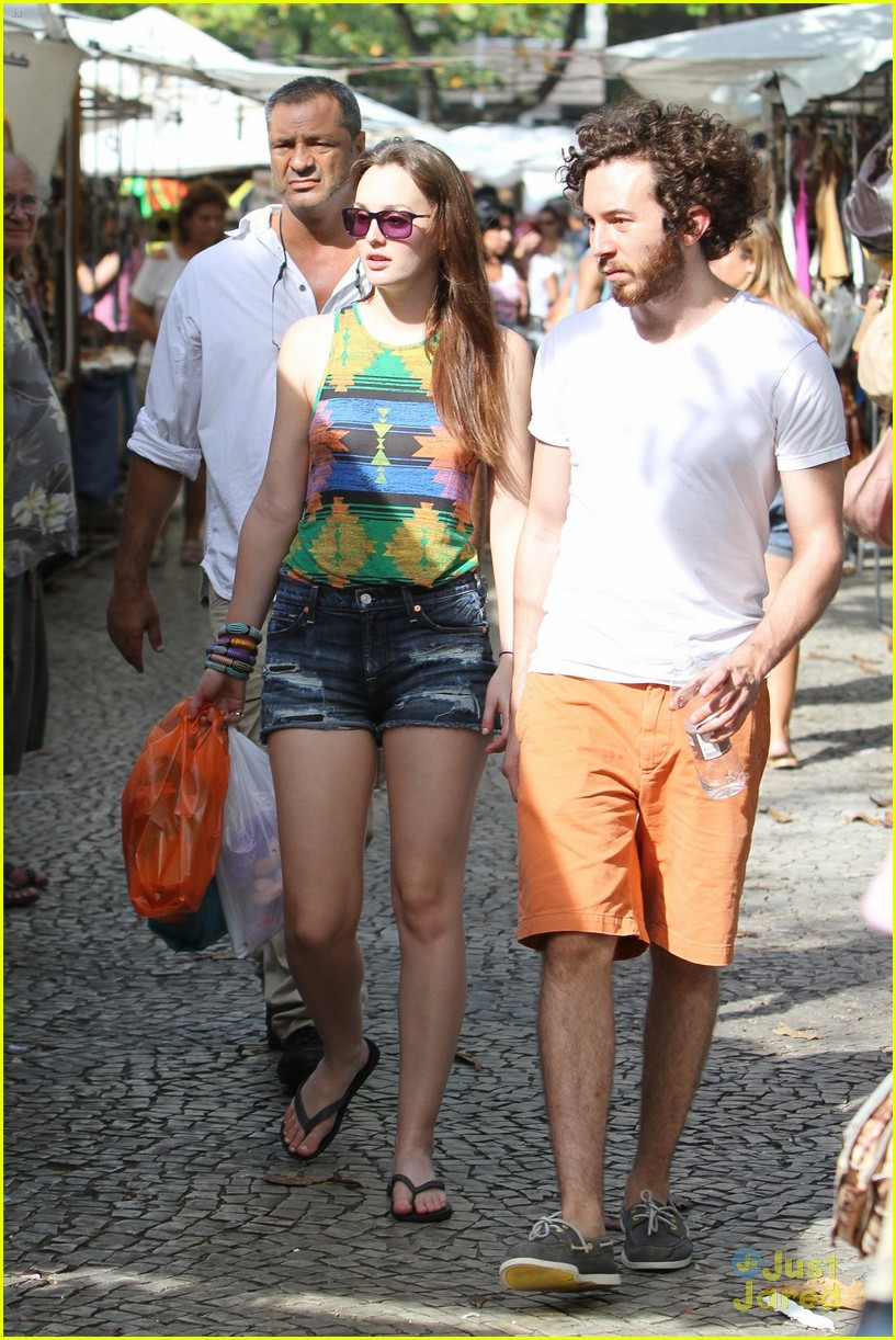 leighton meester aaron beach 03
