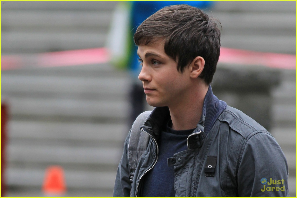 logan lerman faces monsters set 11