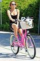 Miley-bike miley cyrus pilates bike ride 06
