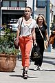 Nathalia-orange nathalia ramos orange pants 07