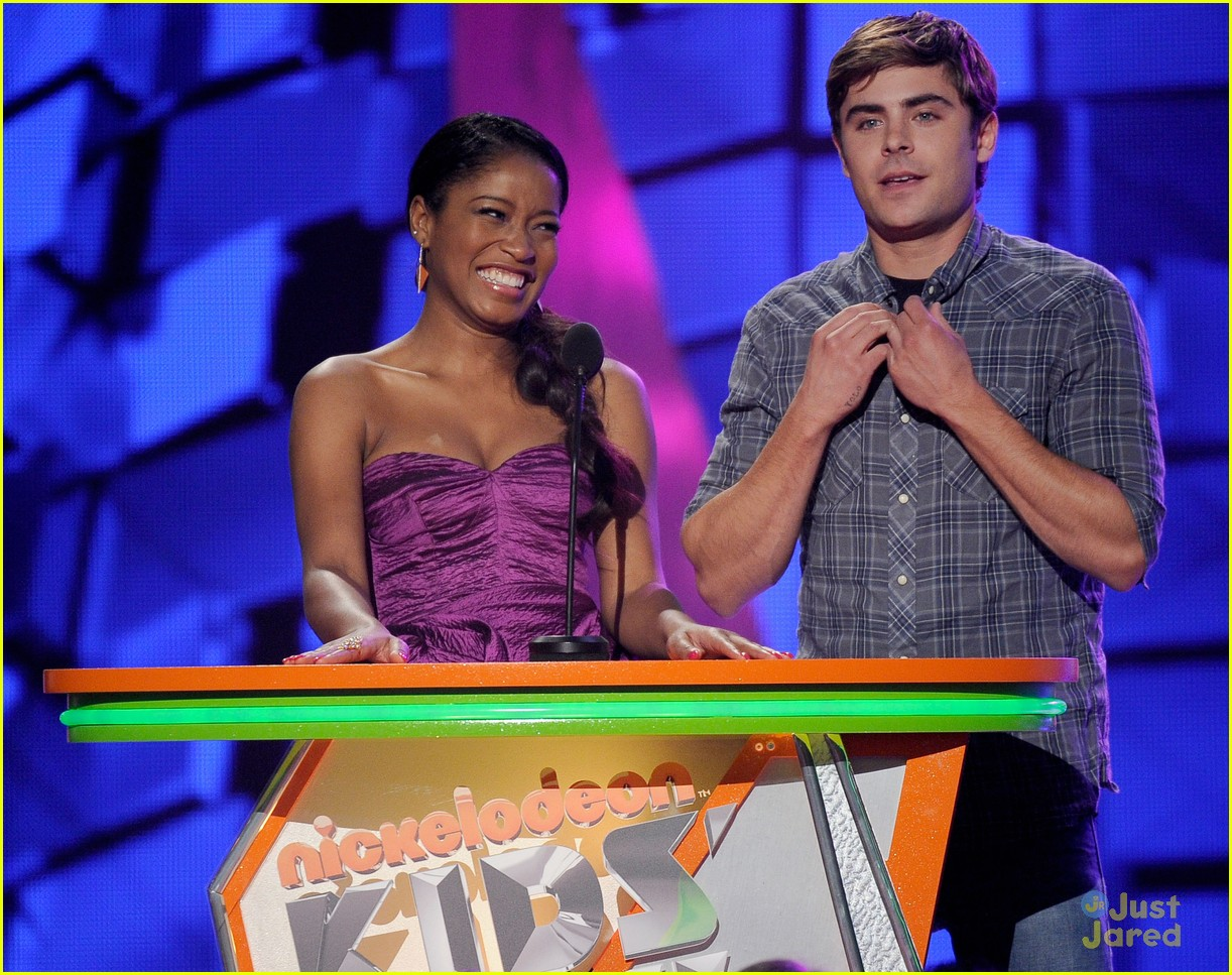 zac efron kids choice awards 07