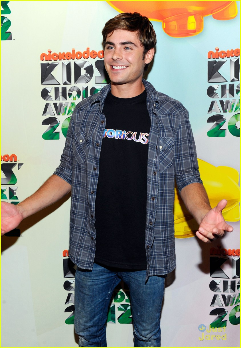 zac efron kids choice awards 08