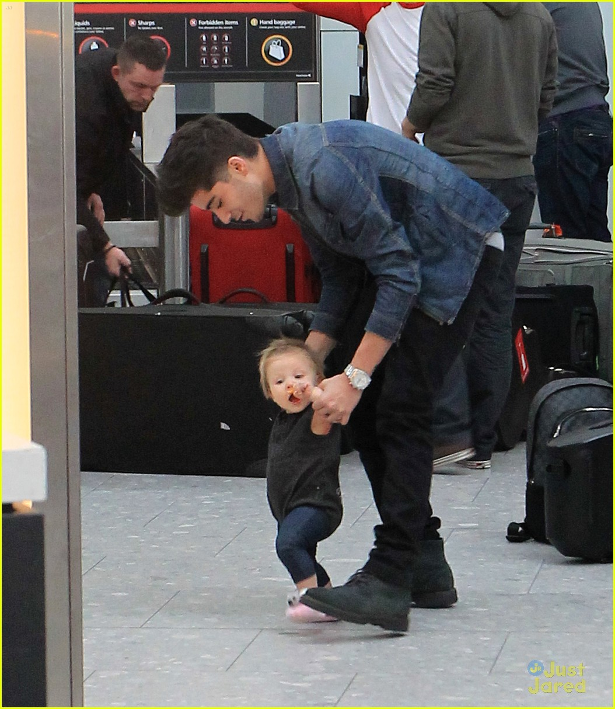 Baby Lux and Zayn Malik