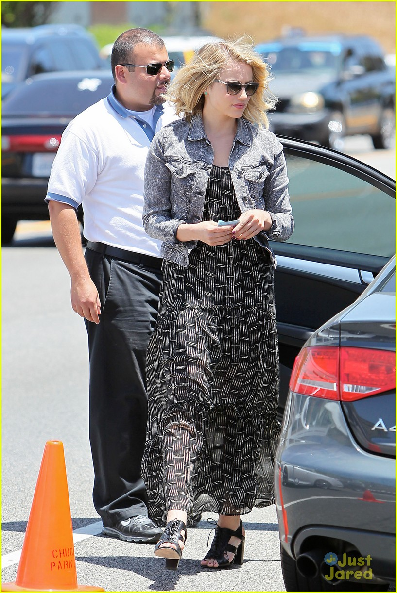 dianna agron memorial day 13