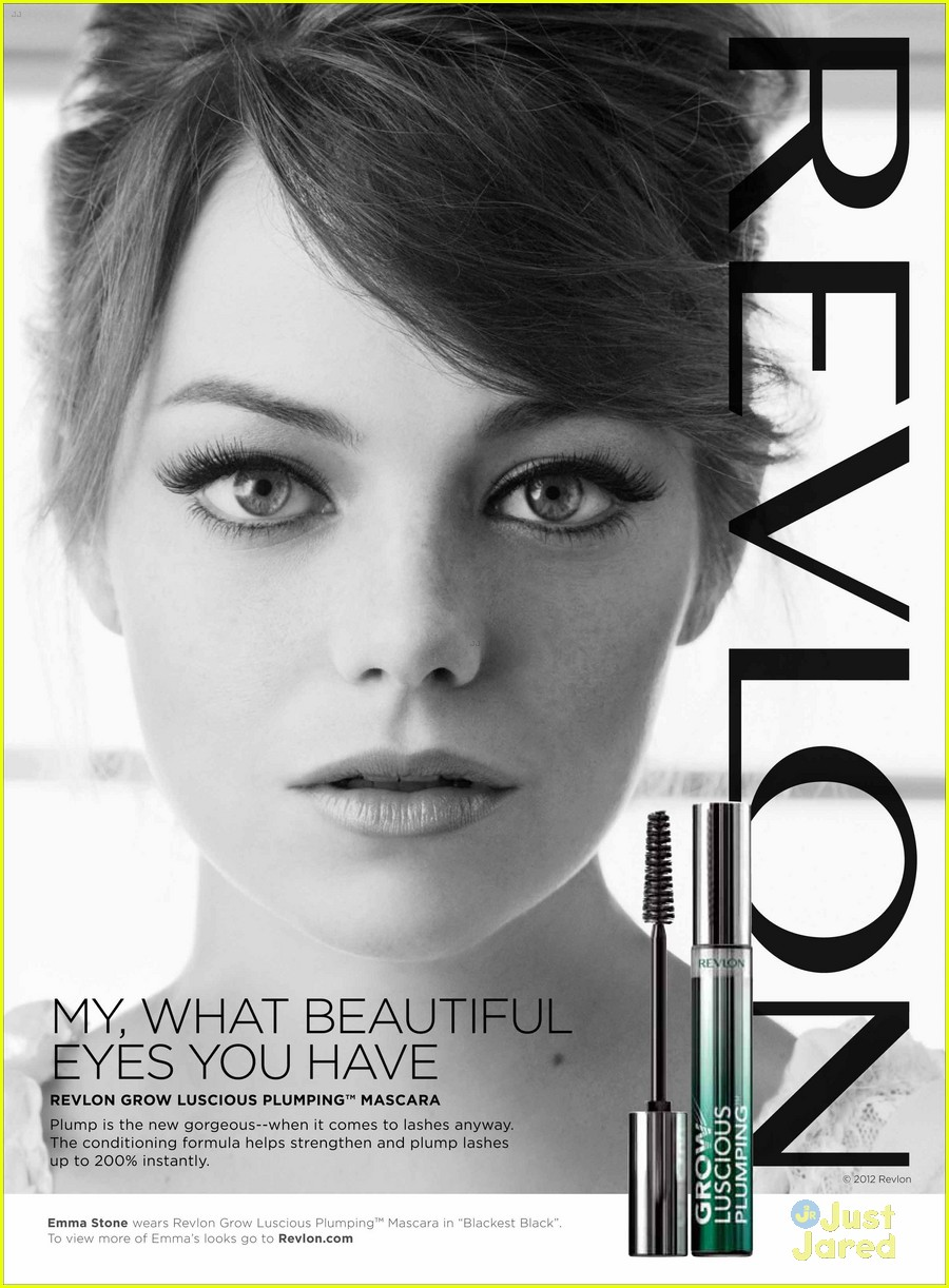 emma stone new revlon ads 02