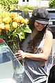 Hudgens-flowers Vanessa Hudgens with her boyfriend 051312  LIME LT 02