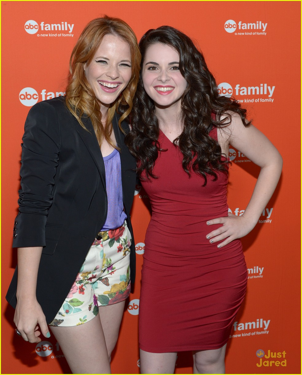 vanessa marano katie leclerc abcf upfronts 06