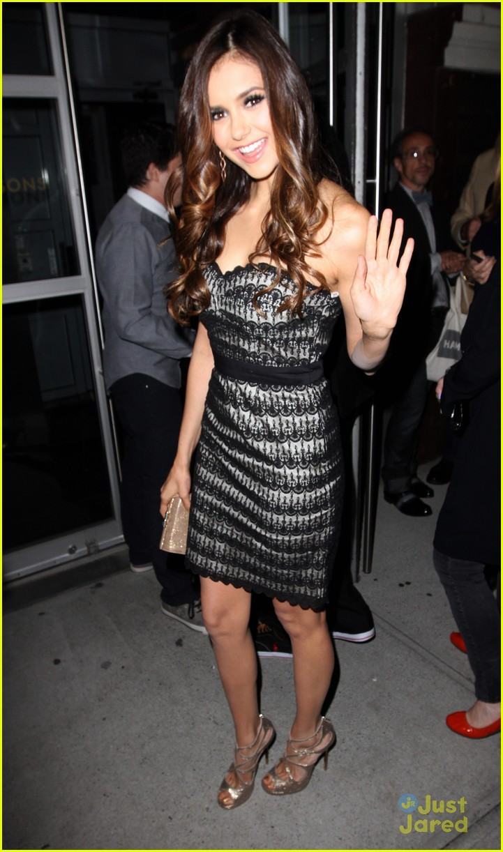nina dobrev cw after party 07