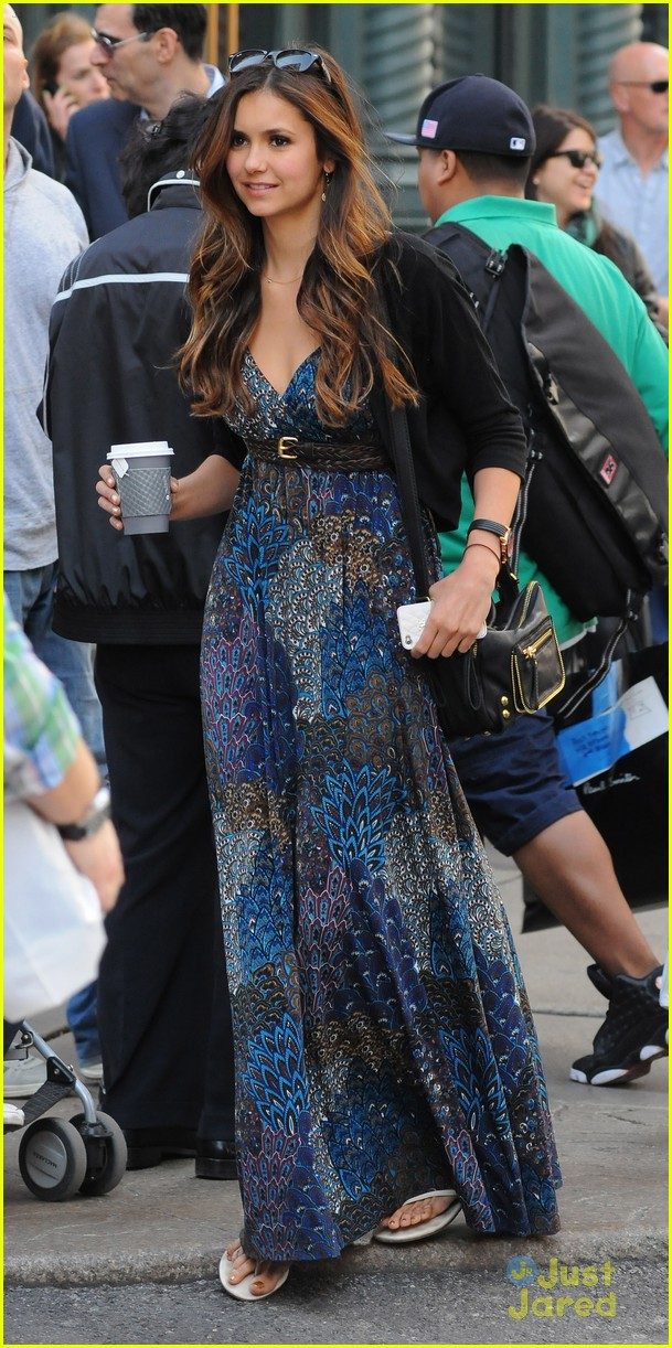 nina dobrev nyc mom 12
