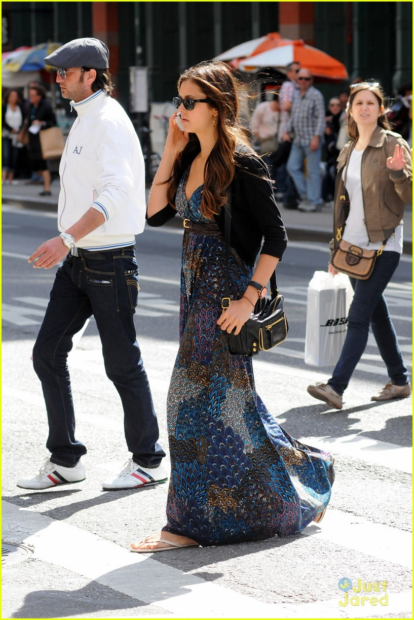 nina dobrev nyc mom 14