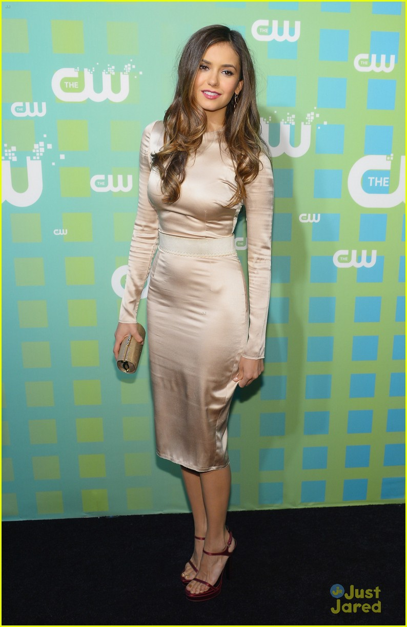 nina dobrev cw upfronts tvd 06