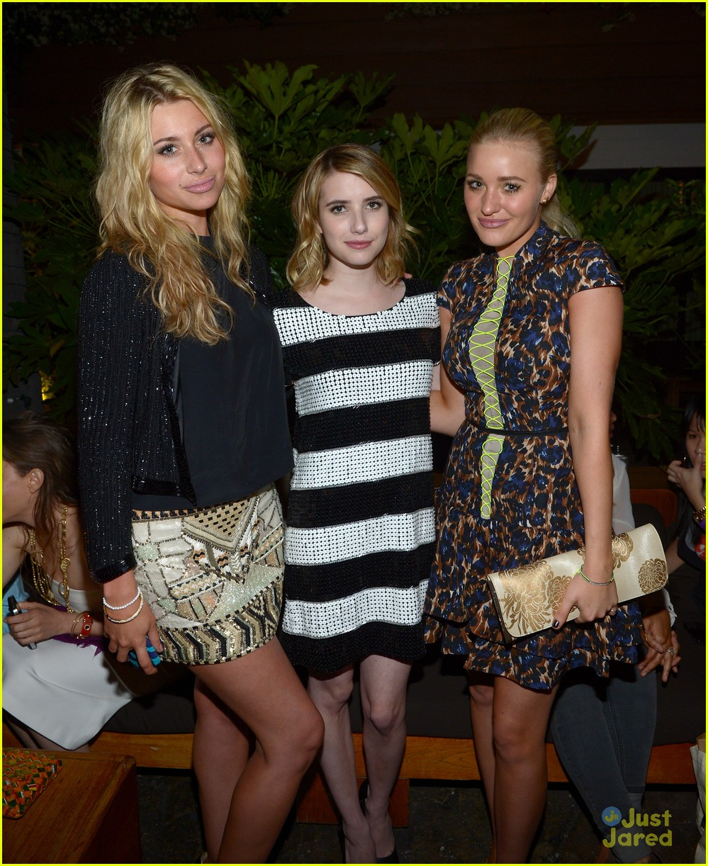 emma roberts nylon party 04