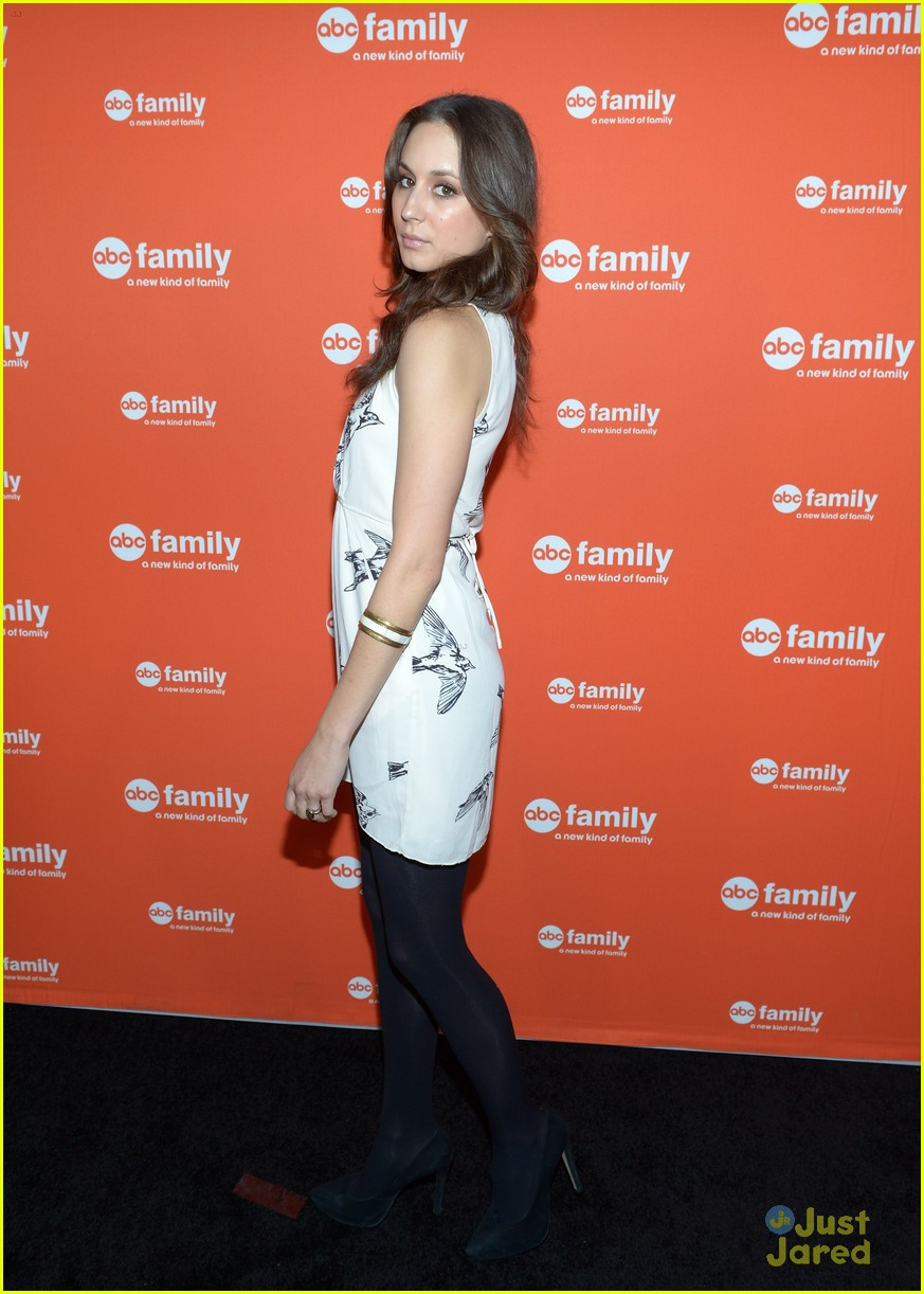 troian shay ian abc family upfronts 06