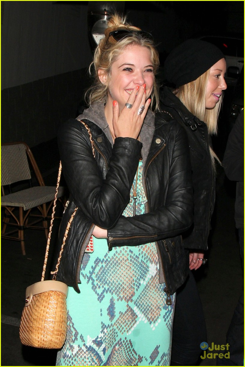 ashley benson laughs chateau 01