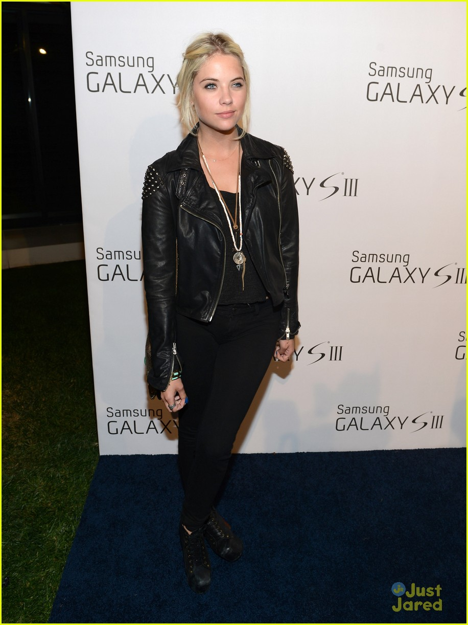 ashley benson samsung launch 08