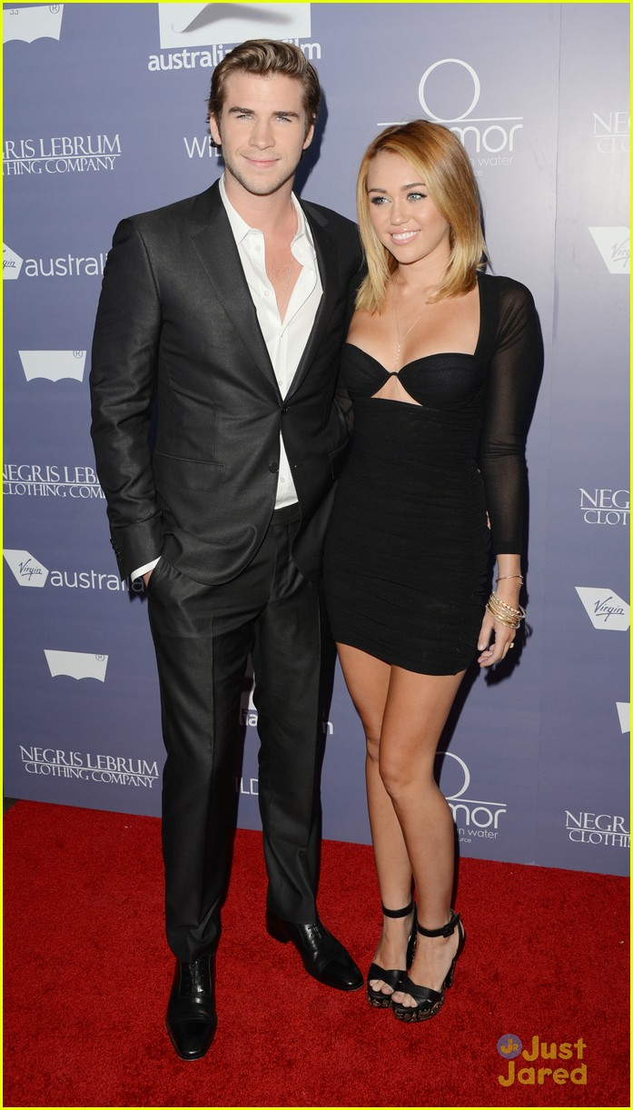 miley cyrus liam hemsworth australians in film awards 16