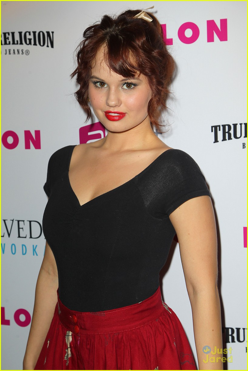 debby ryan nylon mag party 01