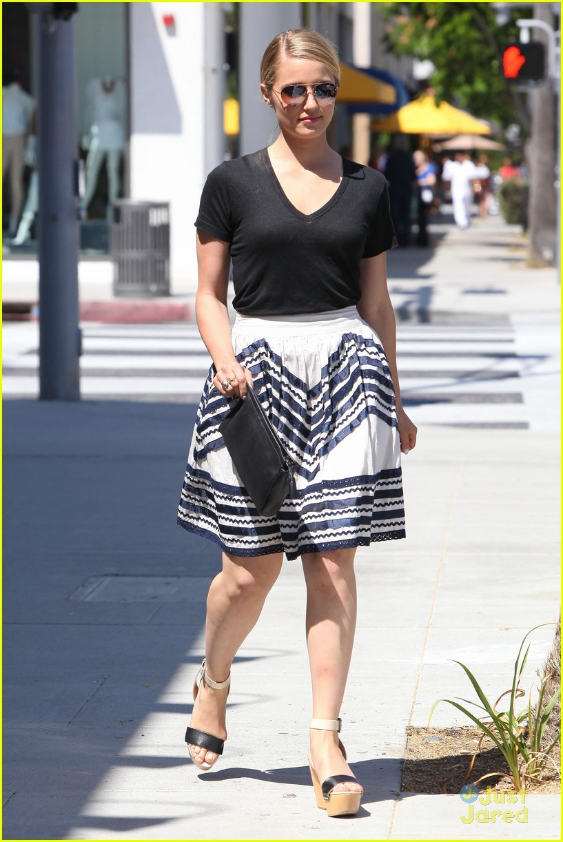 dianna agron arthur harness 12