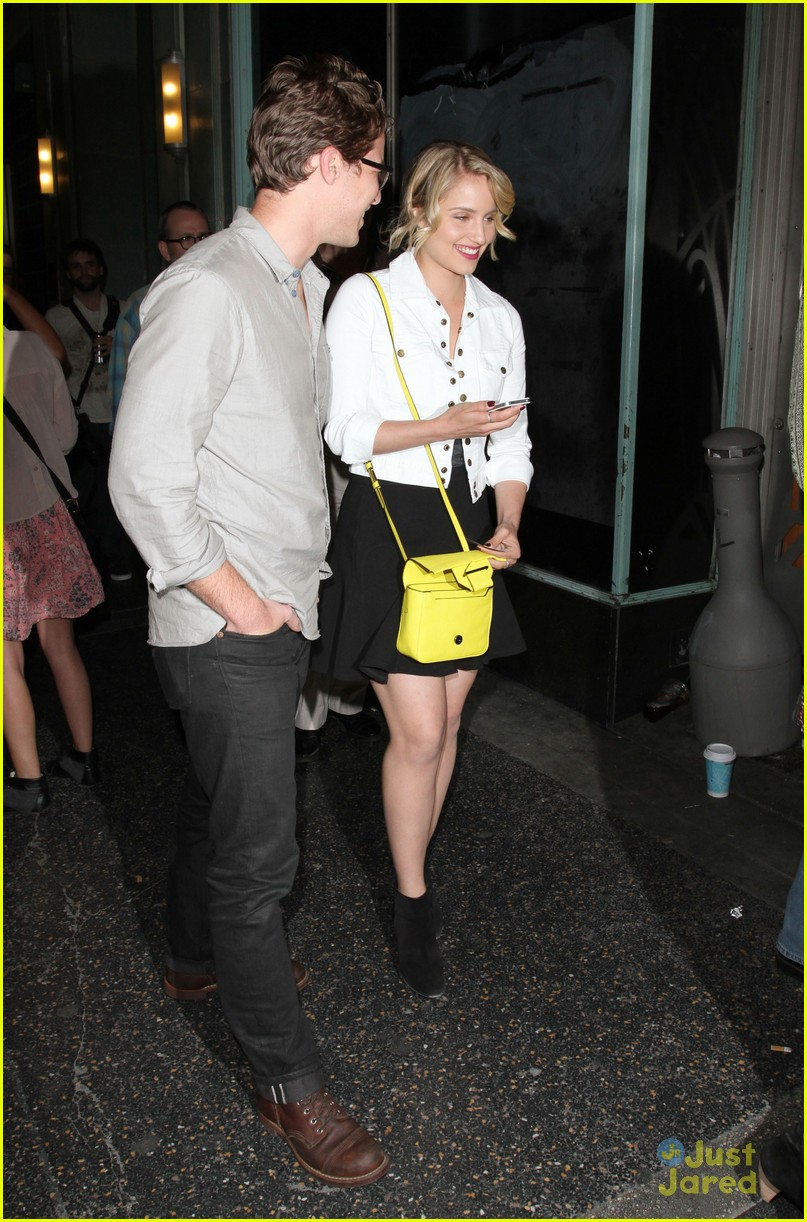 dianna agron jack white concert 01