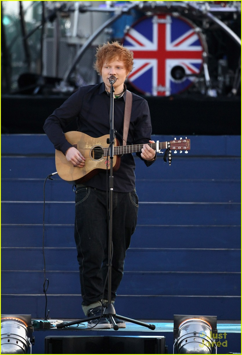 ed sheeran diamond jubilee concert 08