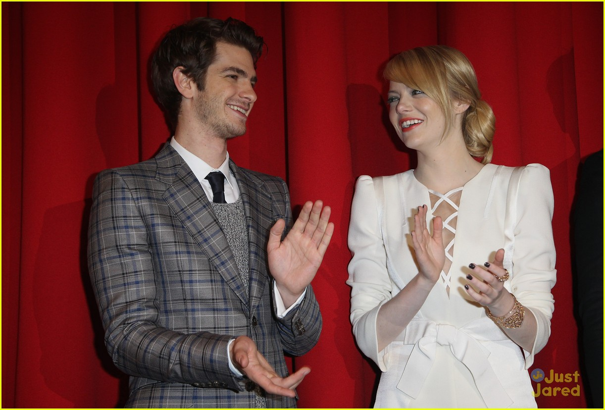 emma stone andrew garfield berlin 15