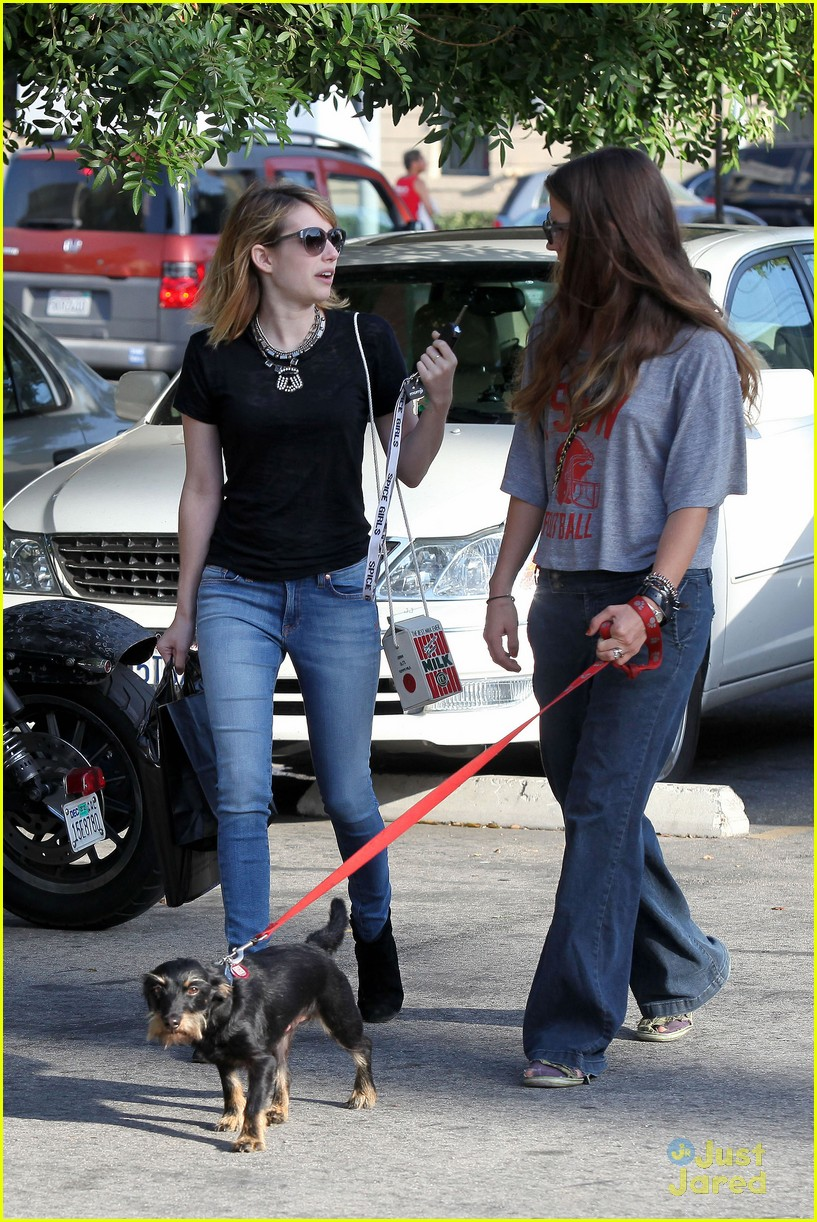 emma roberts los feliz milk 15