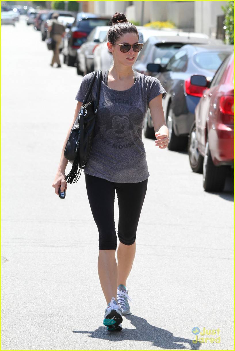 ashley greene mickey club tee 08