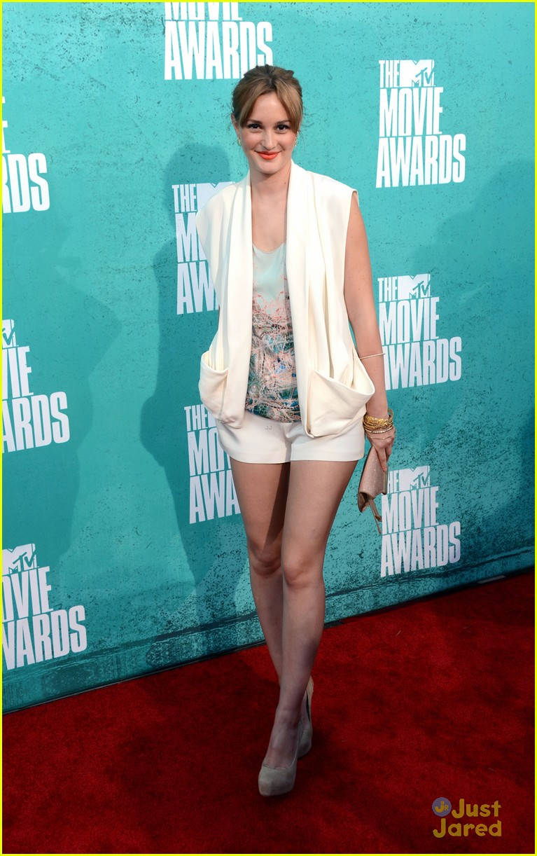 leighton meester mtv movie awards 10