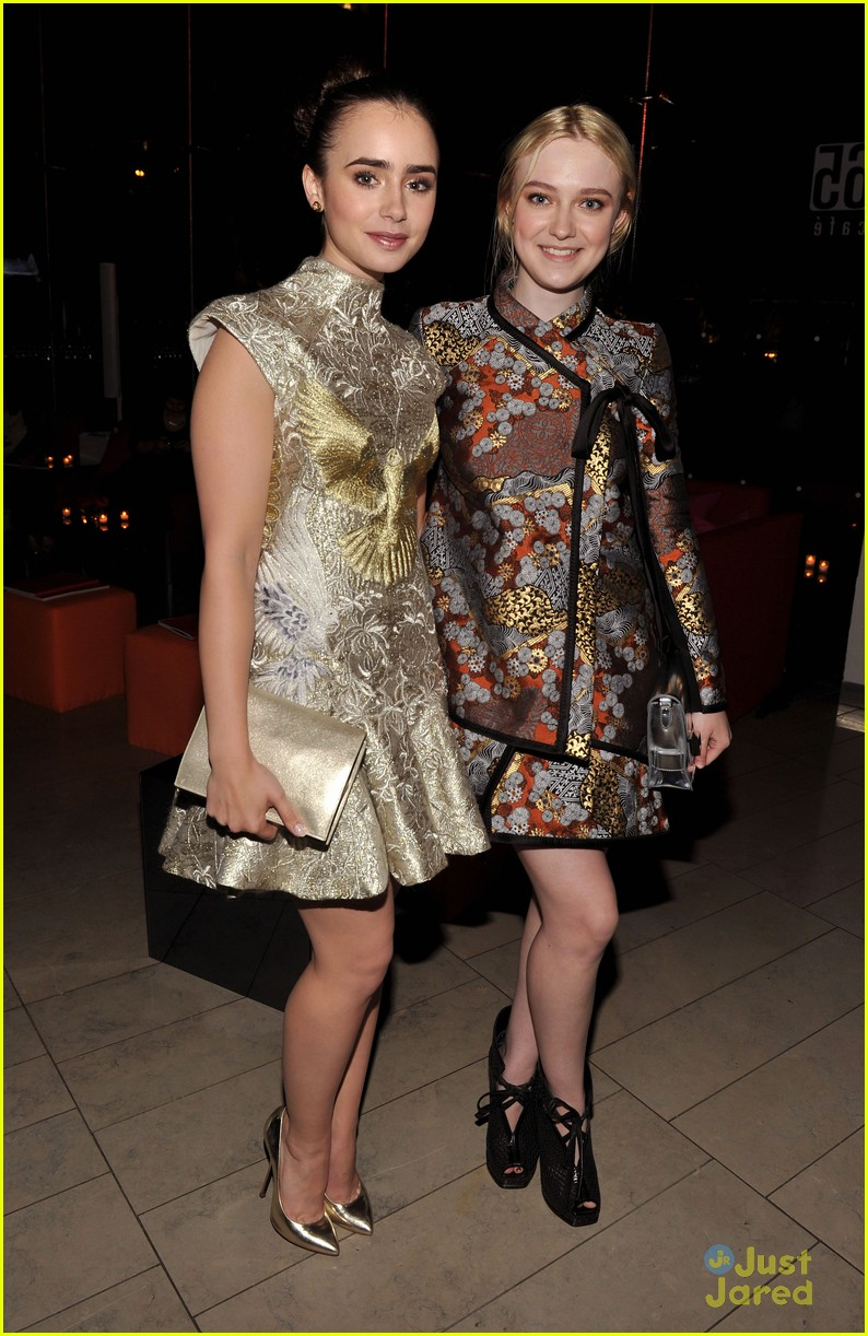 lily collins cfda awards 08