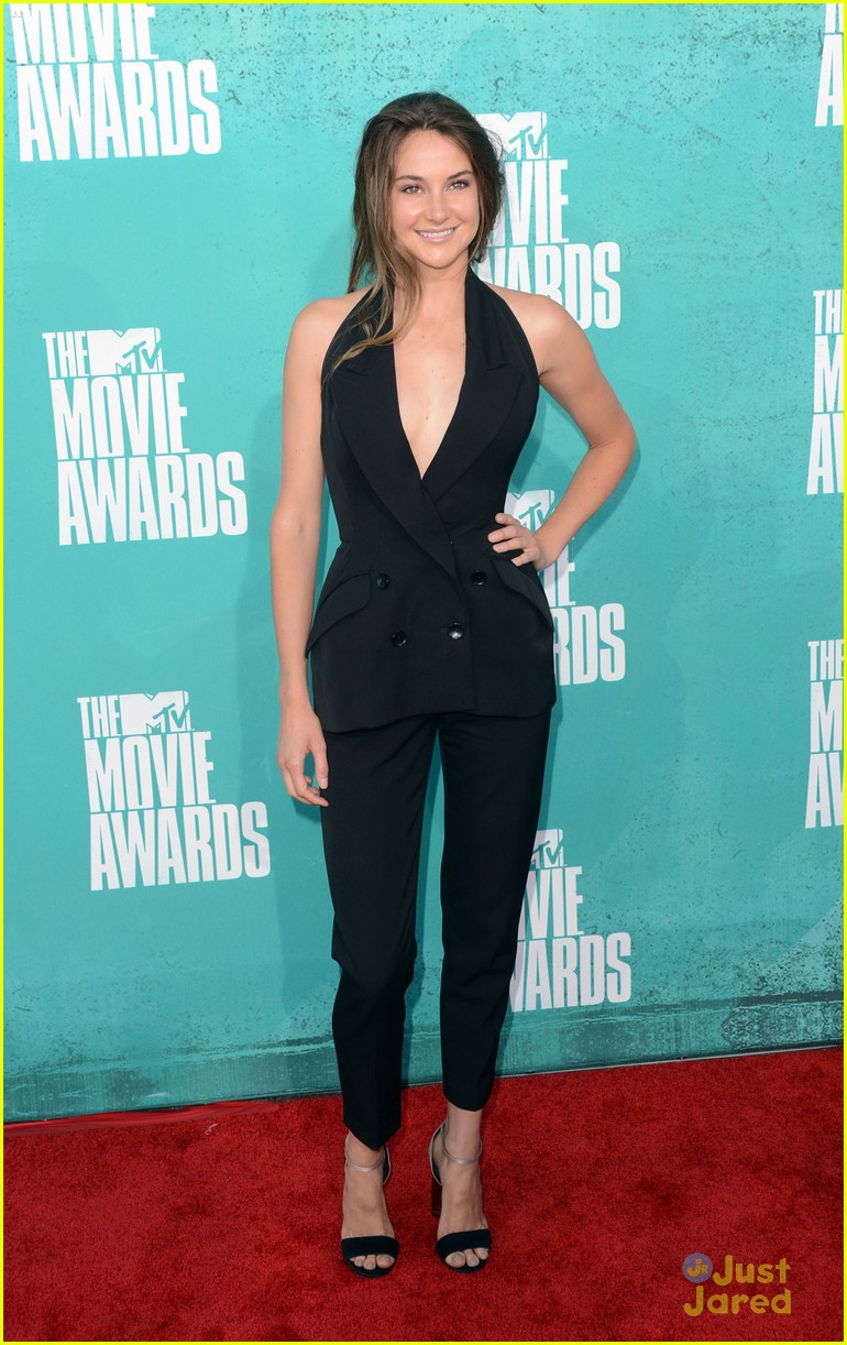 shailene woodley mtv movie awards 12