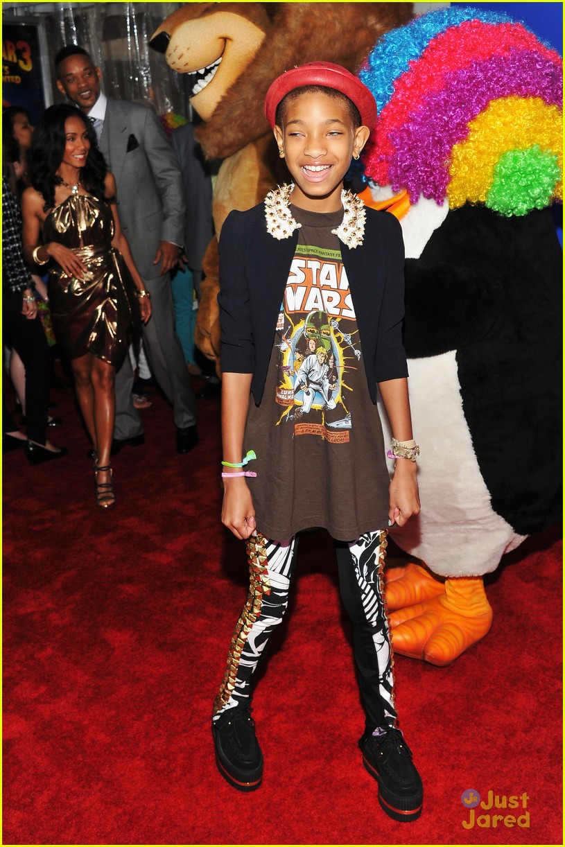 willow smith madagascar 3 premiere 01