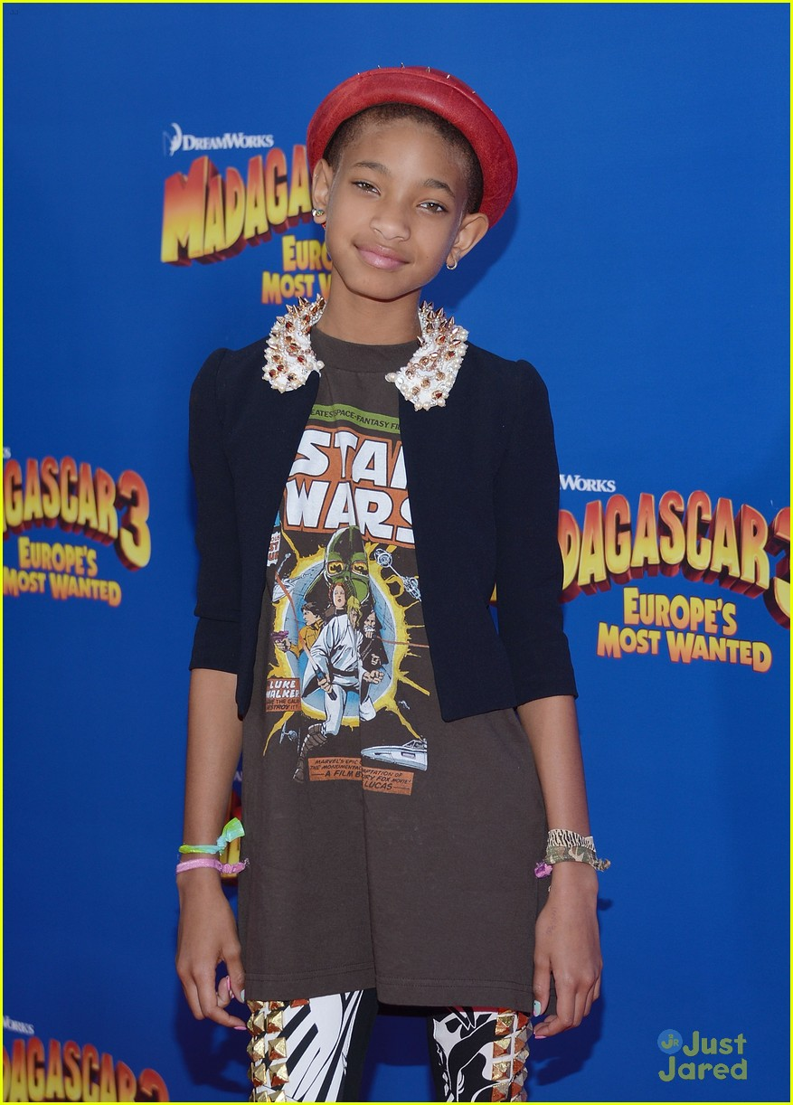 willow smith madagascar 3 premiere 04