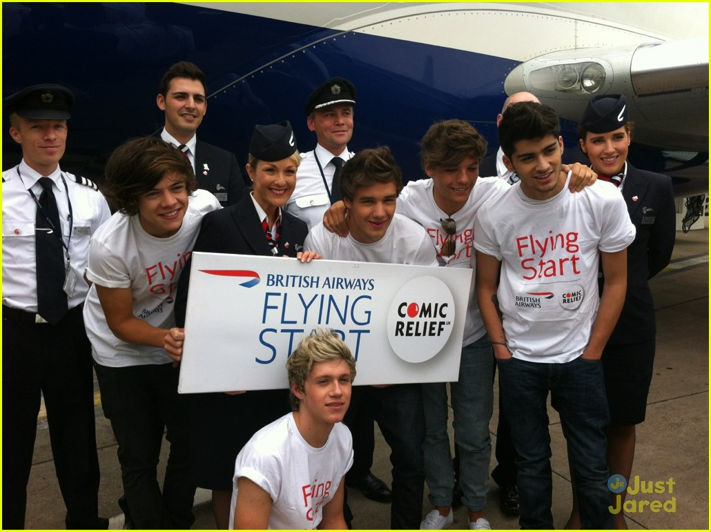 one direction flying start 03