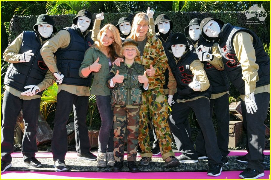 bindi irwin boot camp bday 02