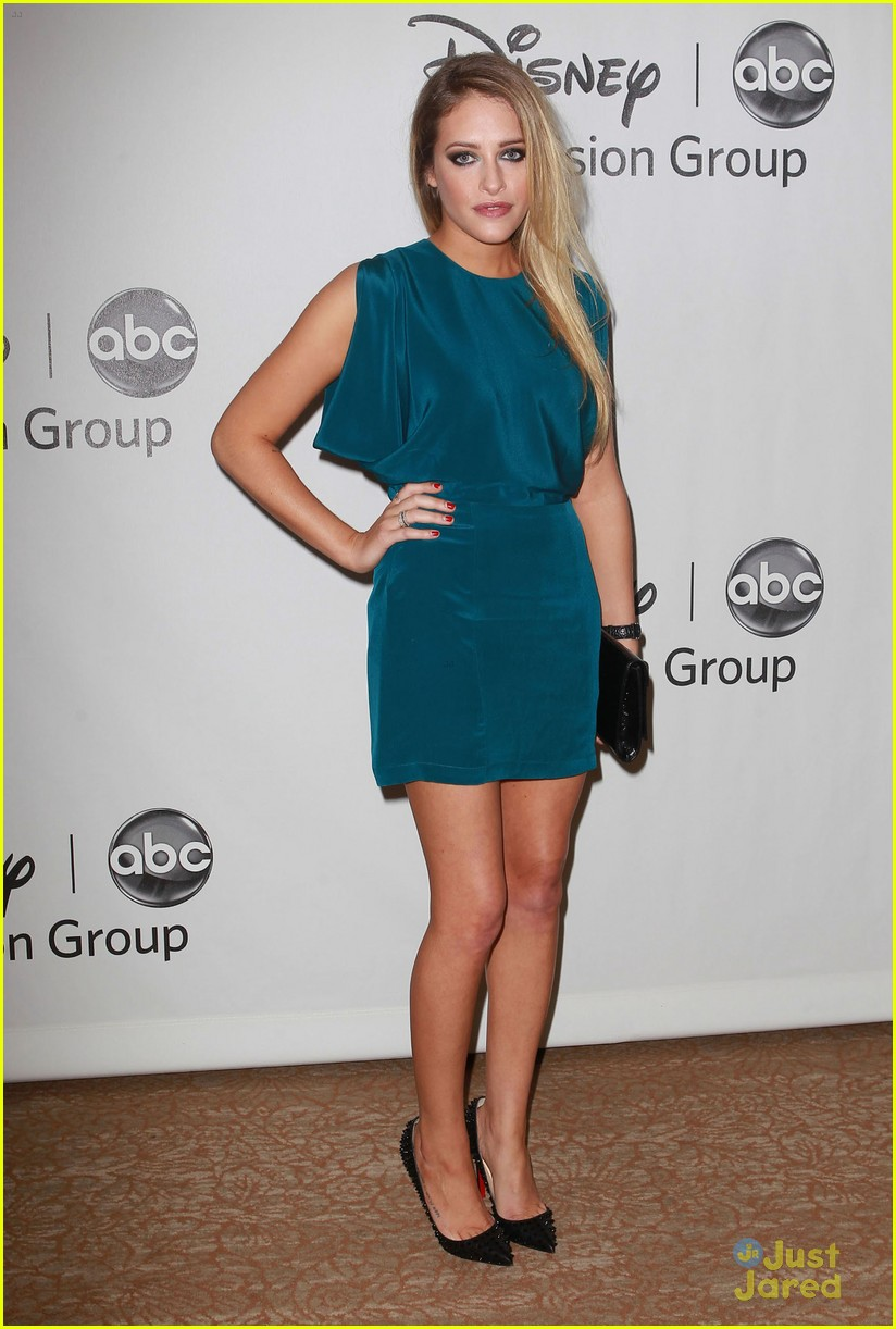 carly chaikin allie grant tca party 14