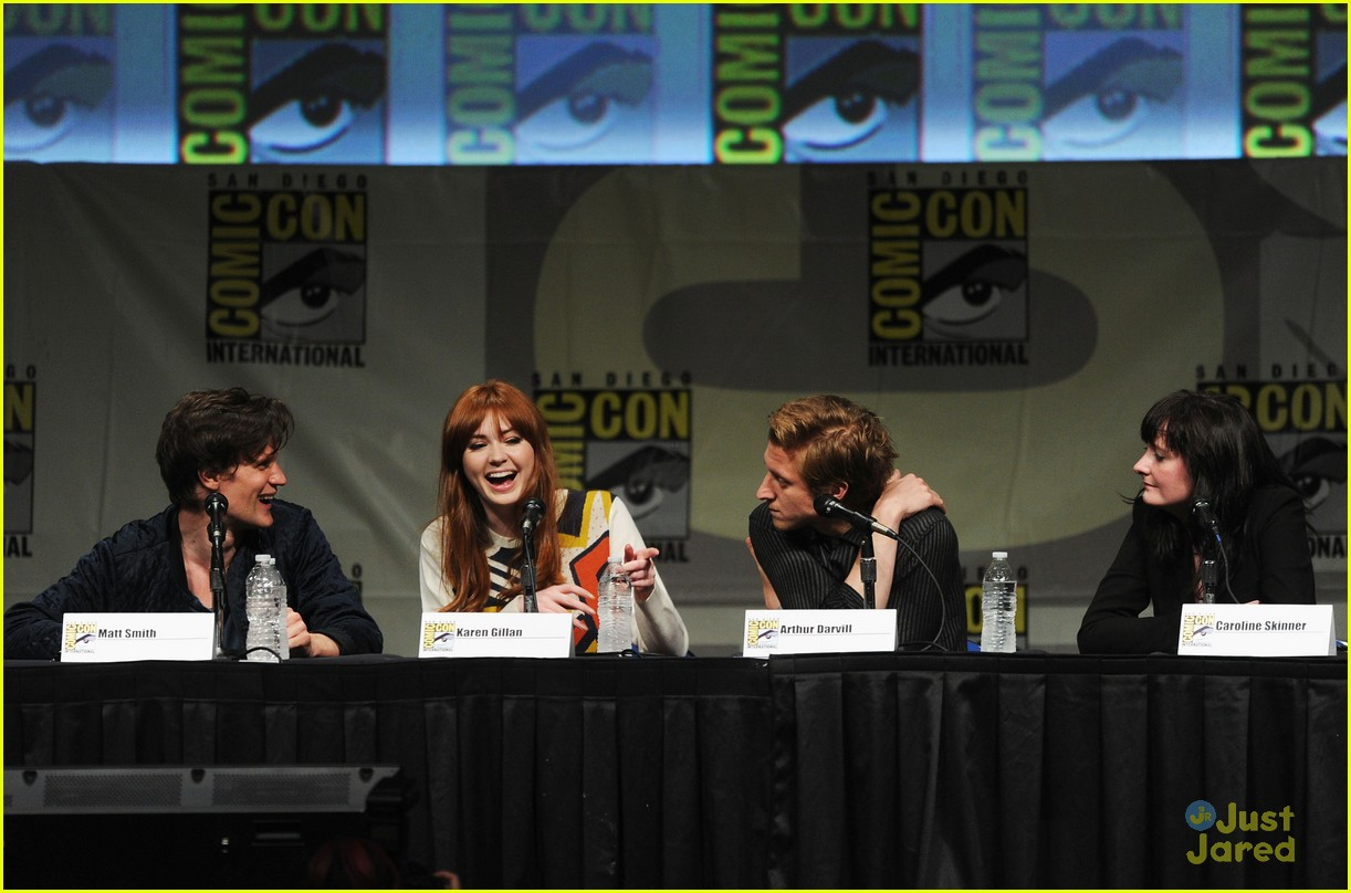 karen gillan doctor who sdcc 11