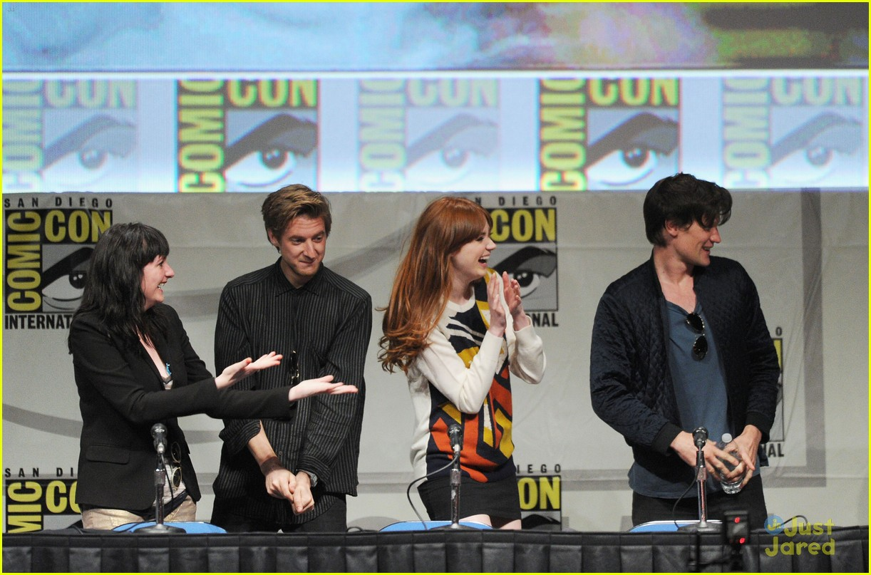 karen gillan doctor who sdcc 13