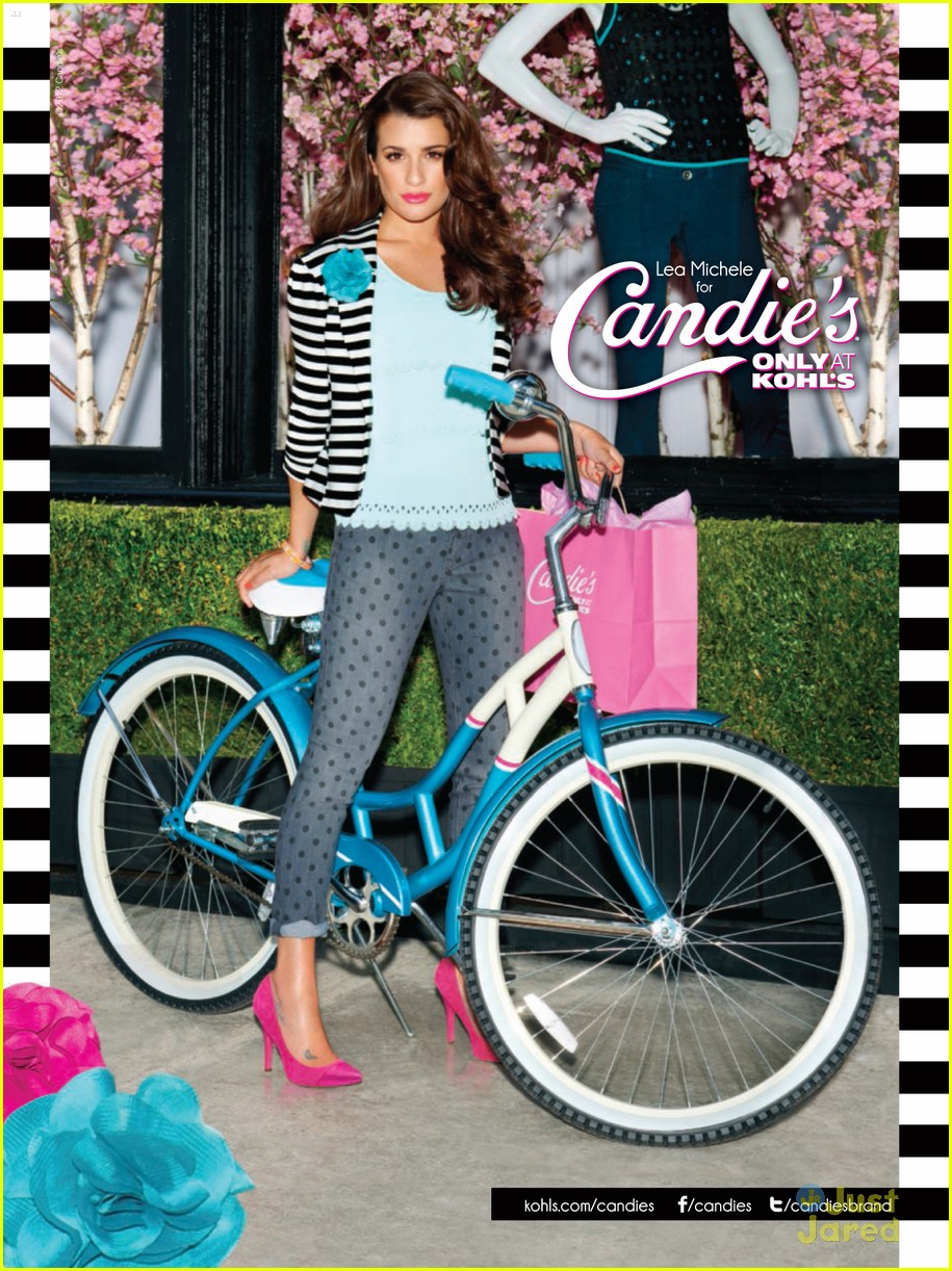 lea michele candies fall campaign 01