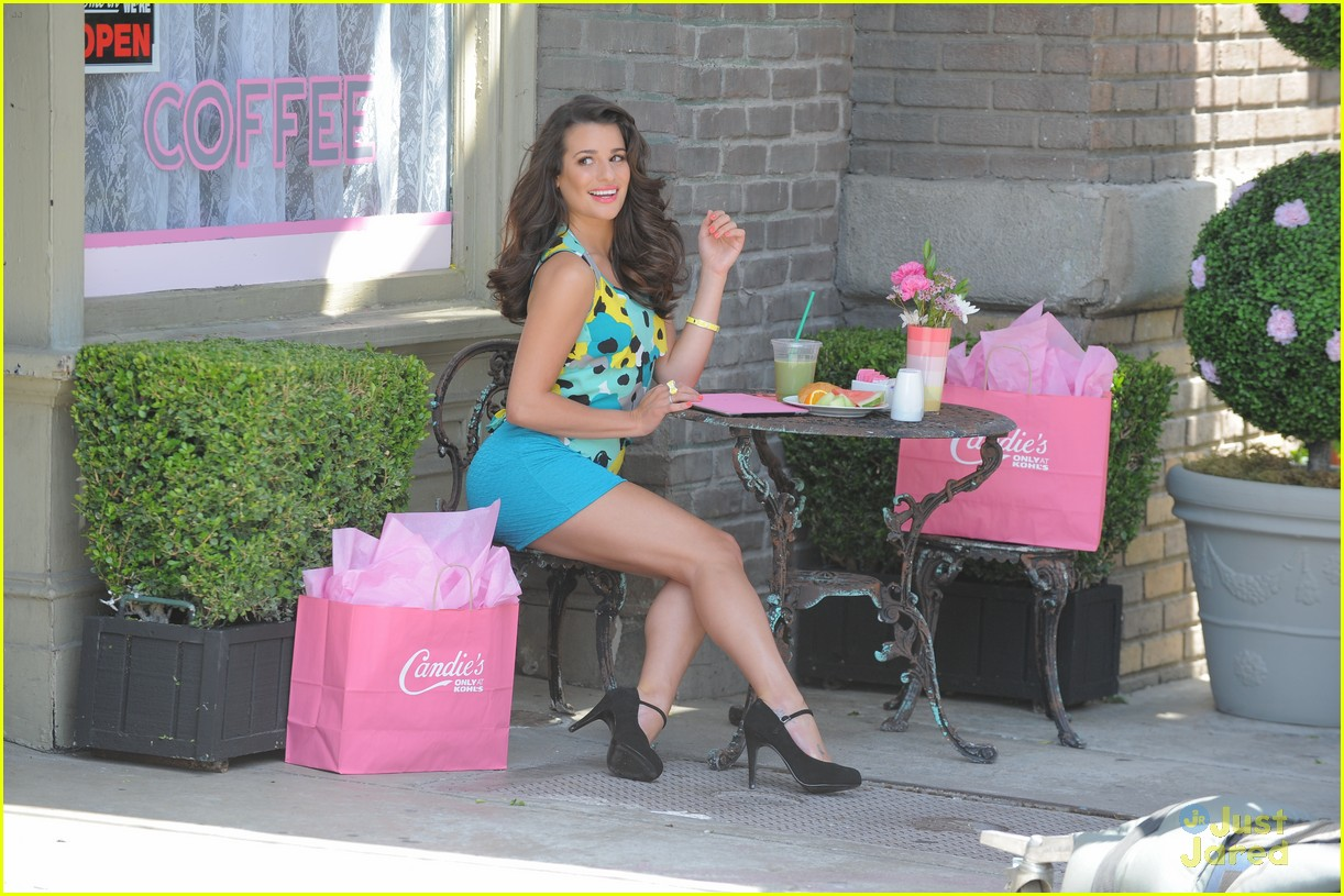 lea michele candies fall campaign 10