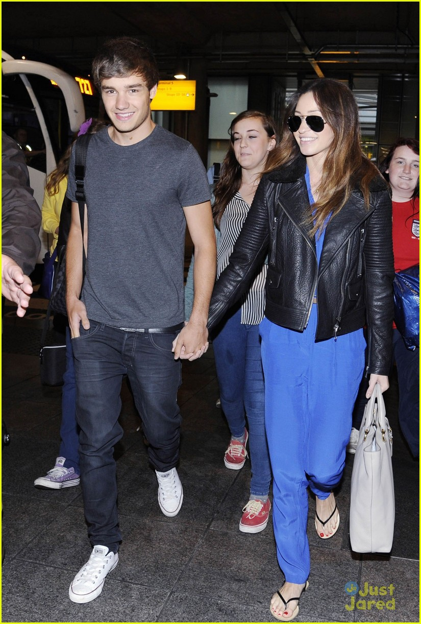 liam payne danielle heathrow 02