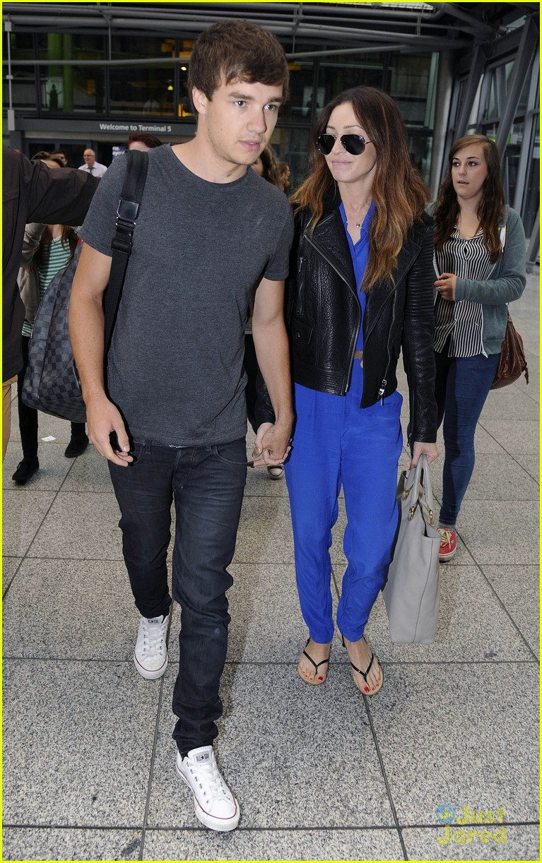 liam payne danielle heathrow 04