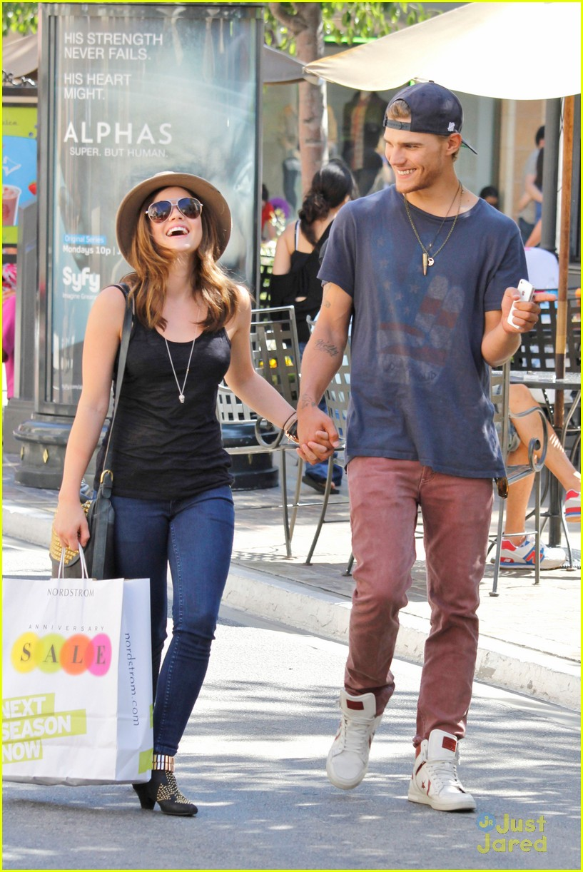 lucy hale chris zylka grove 05
