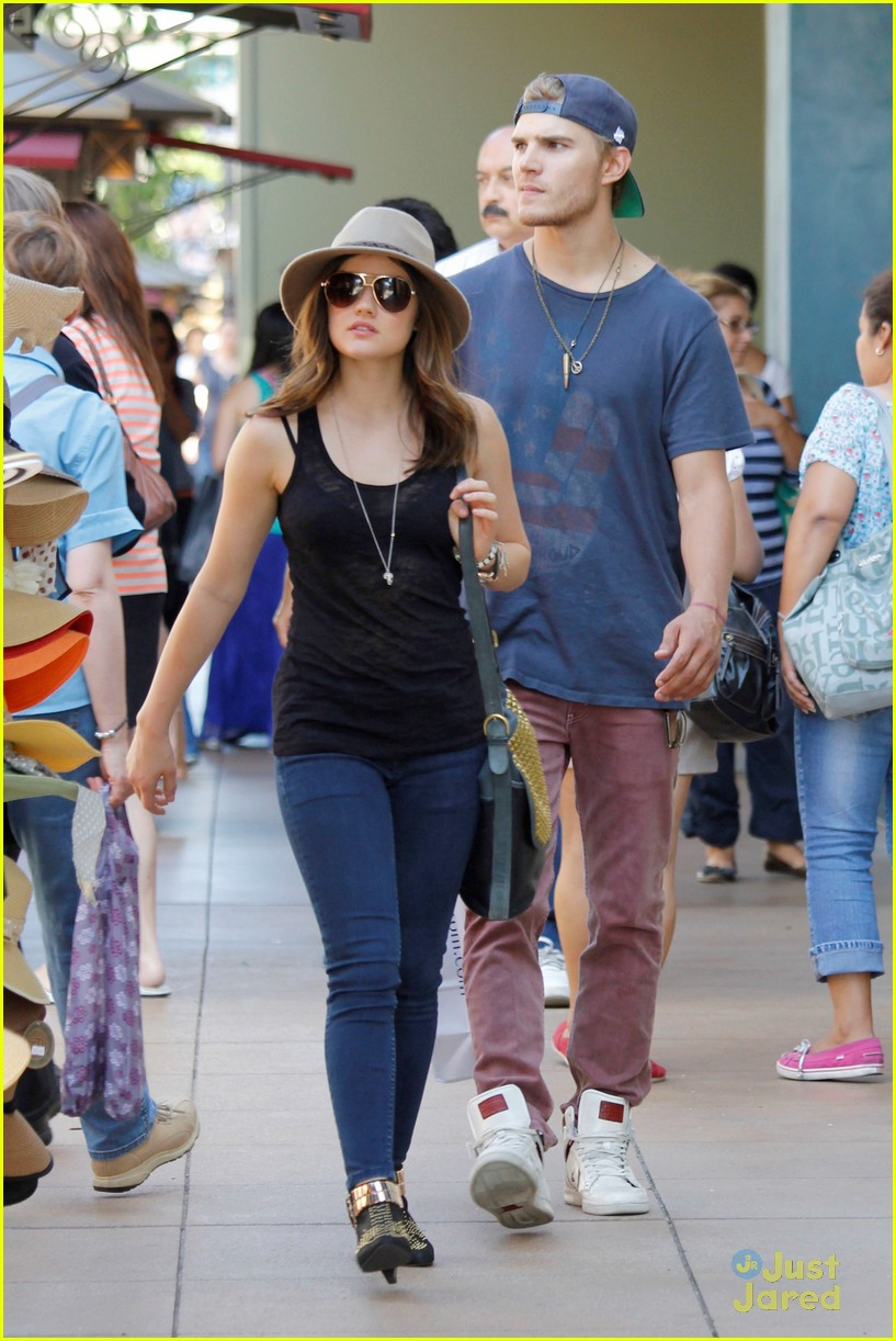 lucy hale chris zylka grove 06