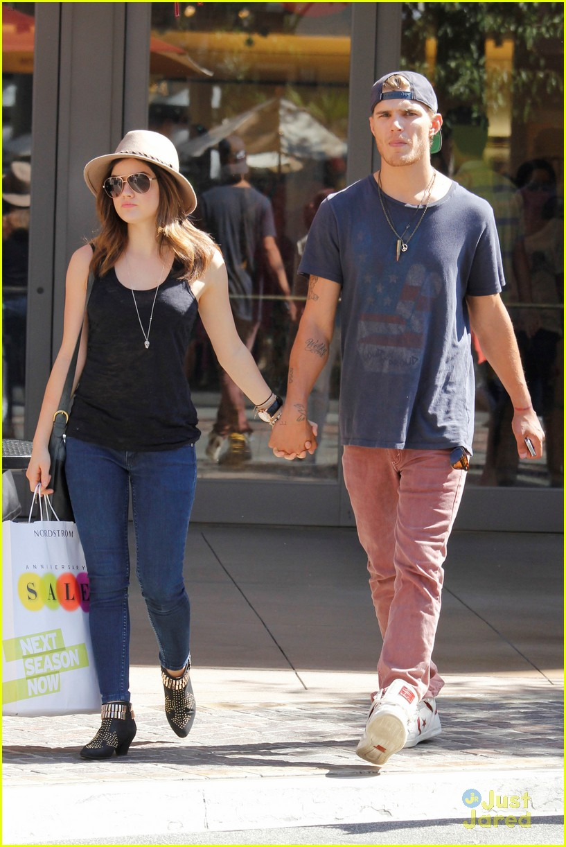 lucy hale chris zylka grove 08