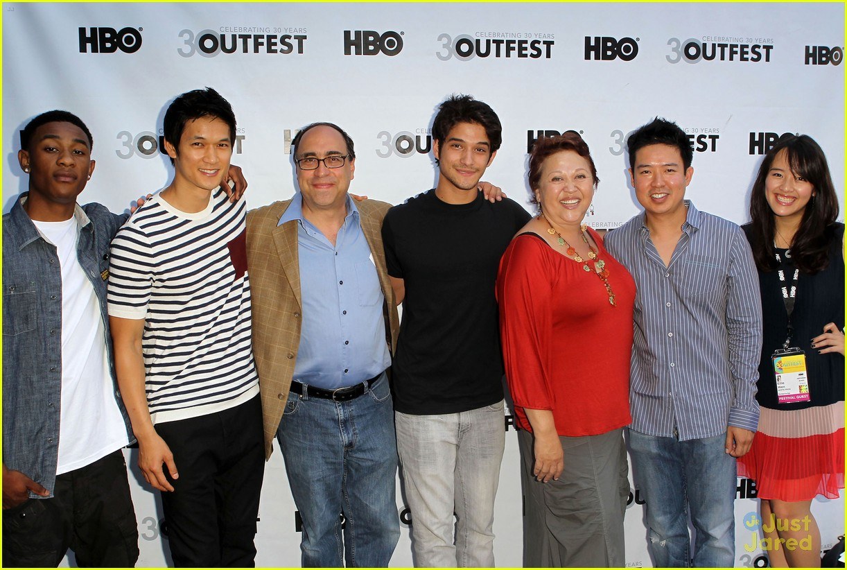 tyler posey harry shum white frog 03
